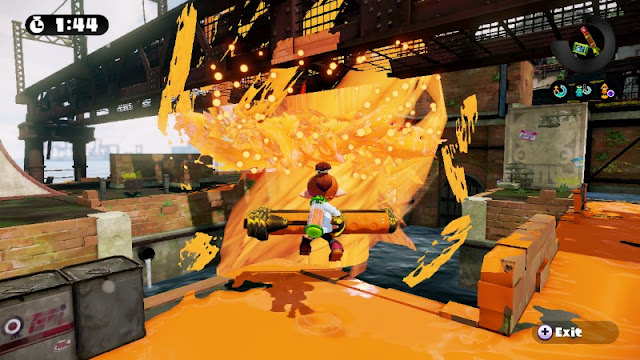 Splatoon Bluefin Depot orange ink water Animas River EPA