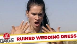 Funny Video – Wedding Dress HORROR
