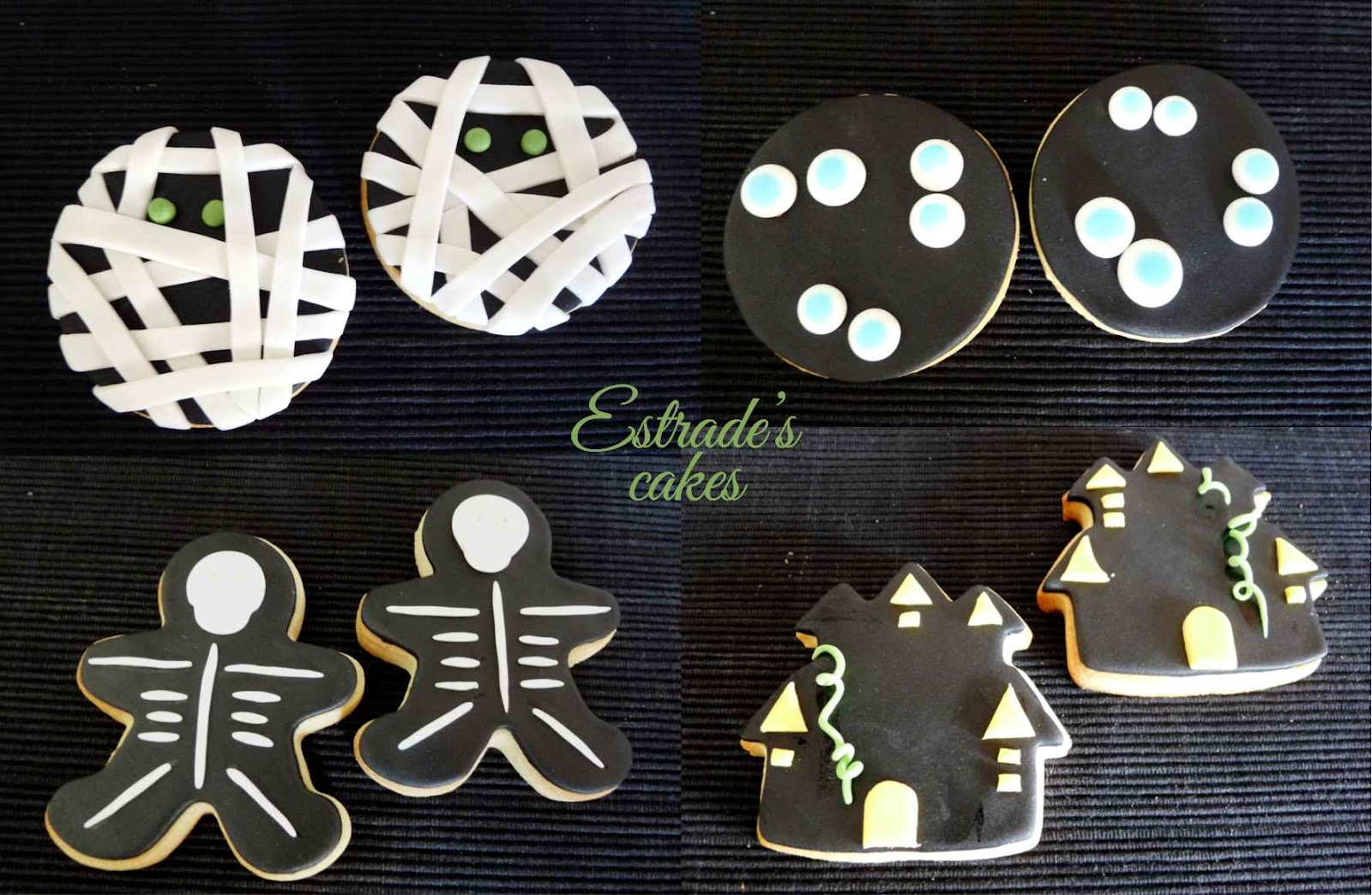 galletas de Halloween con fondant - 2