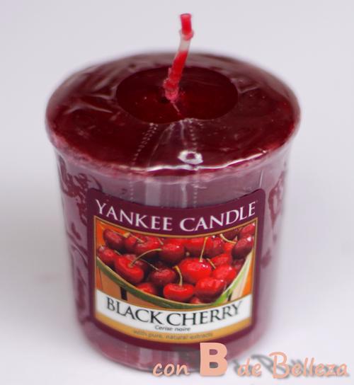Black cherry Vela votiva