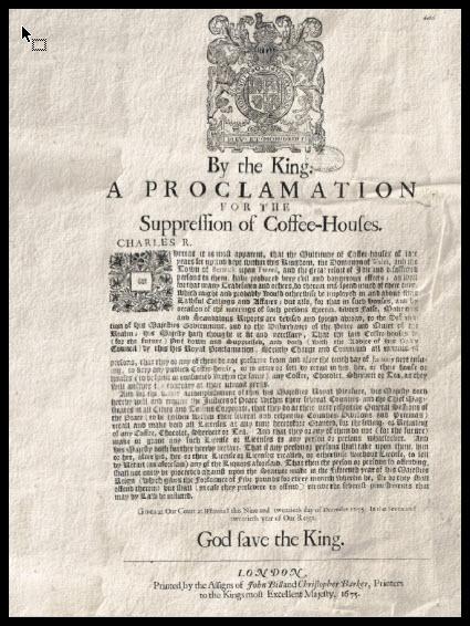 dd75005257e7 En el siglo XVII, las coffee houses inglesas se habían convertido en foros  de debate político, y las conmociones revolucionarias del siglo XVIII  exportaron ...
