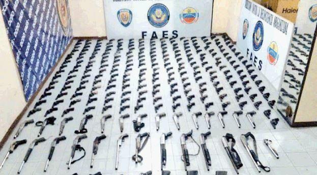 Empresa de vigilancia le vendió todas sus armas a bandas criminales