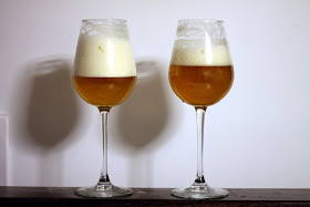 The English/Control is on the left, and the Belgian/Ferulic is on the right.