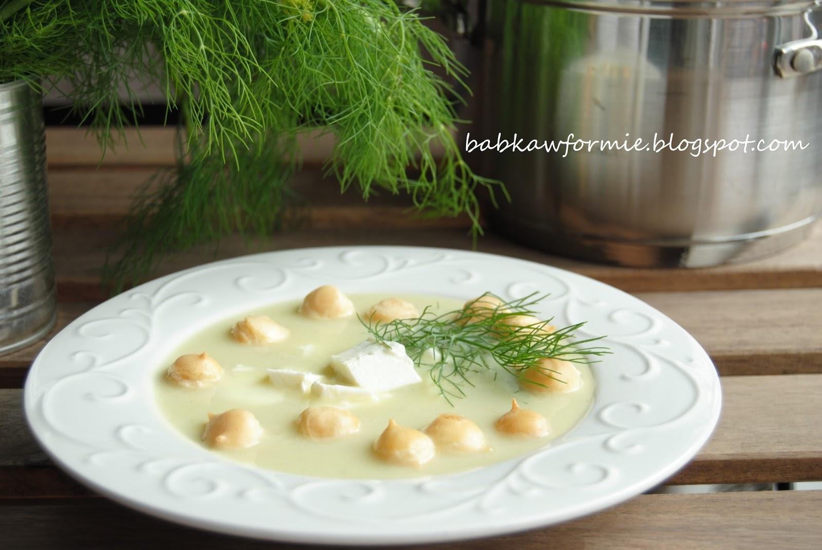 zupa ze świeżych ogórków babkawformie.blogspot.com