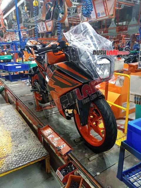 Konsep non mainstream atau out of the box masih melekat pada RC 200 versi 2021 (masih dugaan loh ya).     Tetapi yang banyak jadi perhatian warga Indonesia adalah mengenai desain dari headlamp  KTM RC 200 tersebut.
