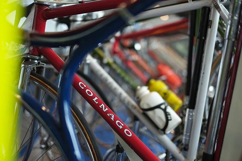 Museo Nicolis, biciclette da corsa