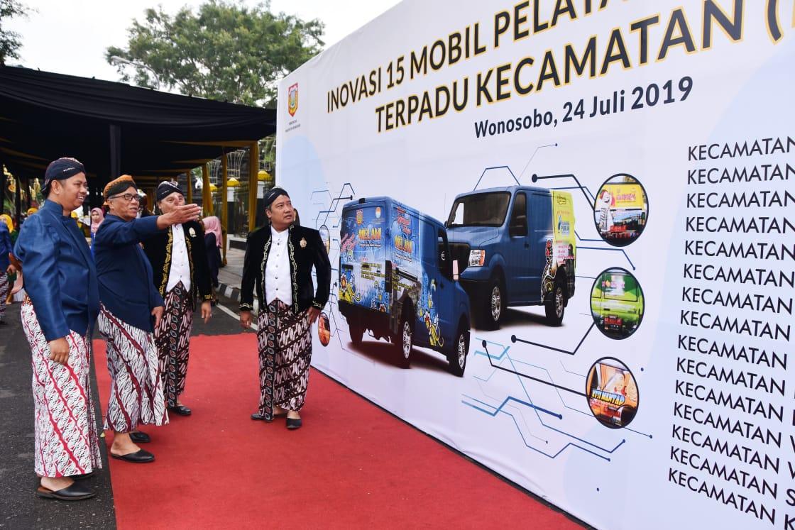 Lima Belas Mobil Keliling Siap Layani Masyarakat Wonosobo