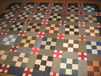 The Blue and the Gray quilt