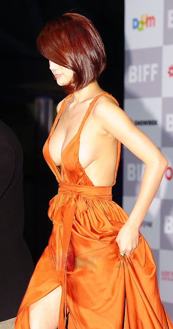 Oh In Hye 오인혜 Hot Red Carpet Dress Photos 08