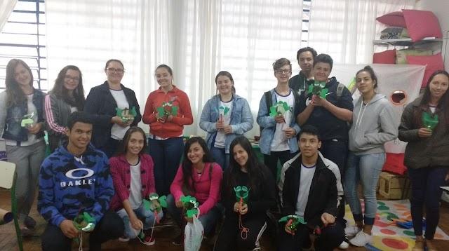 Colégio Estadual Ulysses Guimarães desenvolve Oficinas Pedagógicas para estudantes do Curso de Formação de Docentes