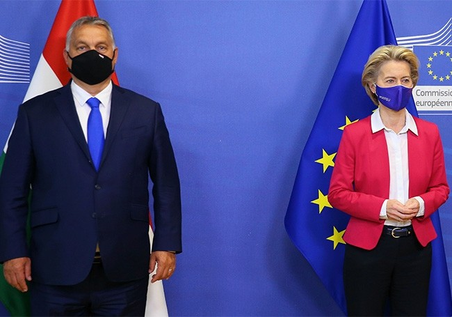 """La Hongrie """" démocratie malade...! """" : Viktor Orban réclame la démission de la commissaire européenne en charge des valeurs"""