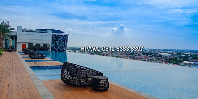Infinity Pool at The Manhattan Mall and Condominium 6th Fl Medan North Sumatera