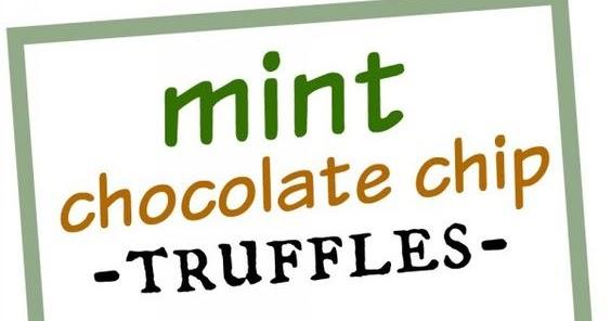 Mint Chocolate Chip Truffles | CUCINA DE YUNG