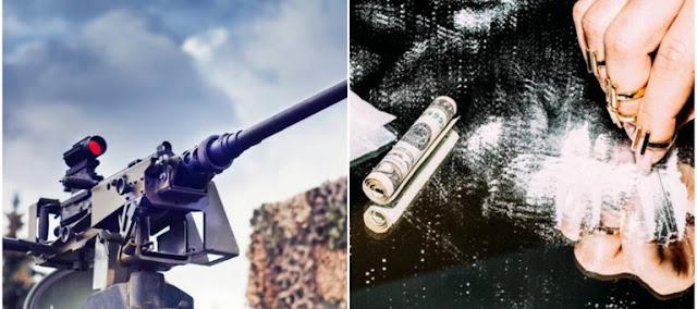 Por cocaína Colombiana El CJNG y El Cártel de Sinaloa intercambian M-4, M.16, M-60 fusiles Colt para francotiradores