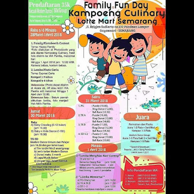 Event Family Fun Day Kampoeng Culinary 2018 Lotte Mart