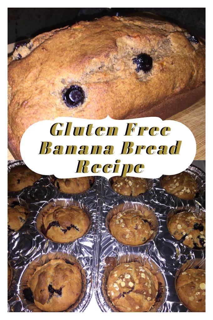 How to make Gluten Free Banana Bread
