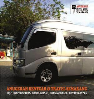 Sewa Minibus Anugerah Travel Semarang