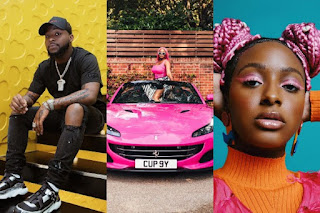 Davido Cngratulates The Otedola's Daughters As Their Father Splashes N300m On Ferrari Cars For Them