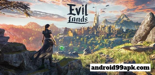 لعبة Evil Lands: Online Action RPG v1.3.0 مهكرة كاملة بحجم 499 MB للاندرويد