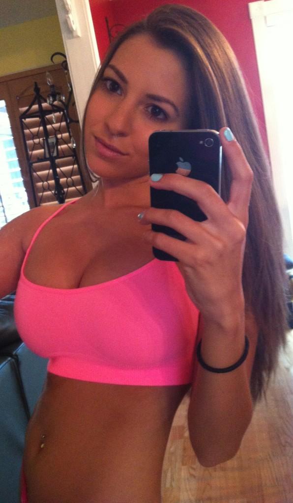 Nipples and navel bbw
