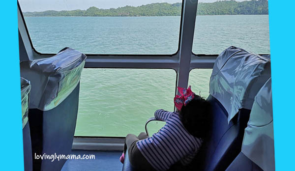 FastCat Ferry Bacolod-Iloilo - Shane - homeschooling - homeschooling in Bacolod - observing nature - Bacolod blogger - Bacolod mommy blogger - FastCat Ferry business class