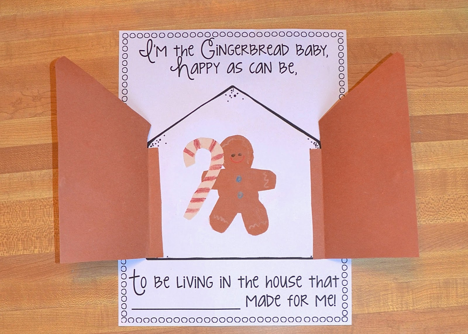Aunt Tami S House Gingerbread Man