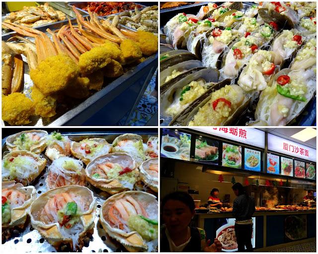 Xiamen cuisine - fresh seafood