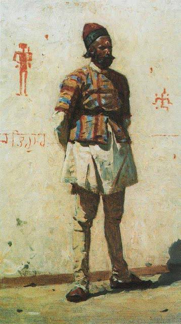 Василий Васильевич Верещагин - Индиец. 1873