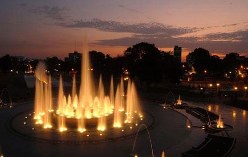 Circuito Magico Del Agua Del Parque De La Reserva Lima En Lima