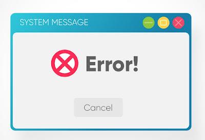 Macam-macam Kode Internet Error