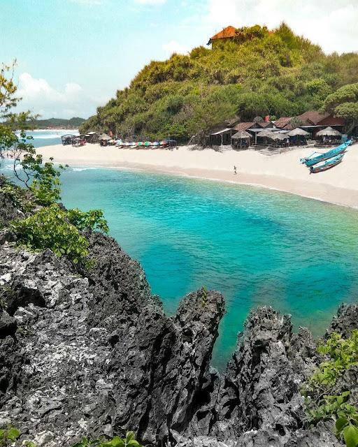 Pantai Ngandong Gunung Kidul, Suasana Perkampungan Nelayan