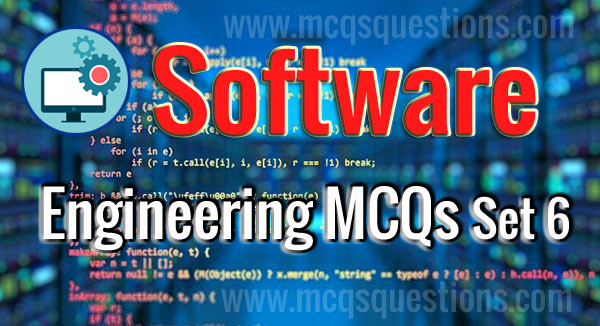 MCQs on software engineering