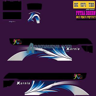 Livery Bus Kurnia Srikandi SHD