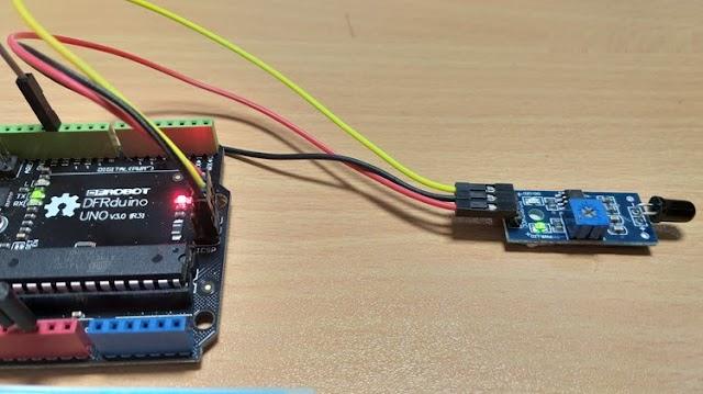 صنع جهاز انذار حريق بأستخدام الاردوينو - 3 خطوات