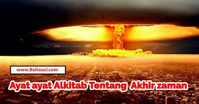 Ayat Ayat Alkitab tentang nubuatan akhir zaman