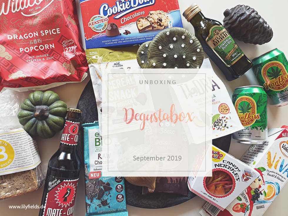 Degustabox - September 2019 - unboxing