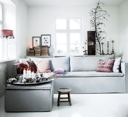 Creative Influences Pink Bedroom: Creative Influences: Color Scheme: Pink, Gray, White And Black
