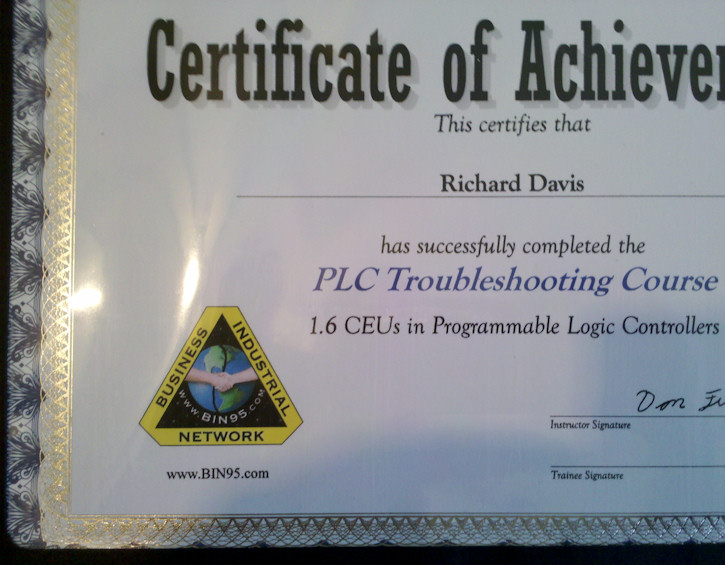 Industrial Skills Training Beef up that Resume with PLC Training