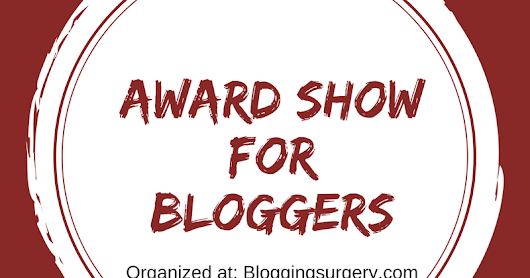 Award Show For Bloggers- 2017 - Hosted By Blogging Surgeon