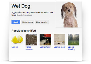 Google Nose - Wet Dog