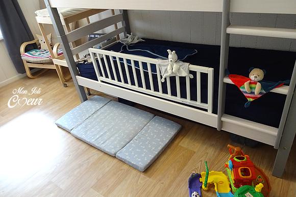 Mon joli coeur notre petit coeur a une chambre de grand - Barriere de lit conforama ...