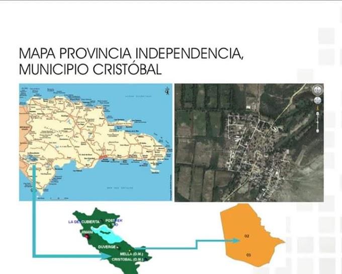 Origen del Municipio Cristóbal, perteneciente a la provincia Independencia