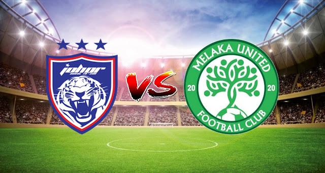 Live Streaming JDT FC vs Melaka United 2.4.2021 Liga Super
