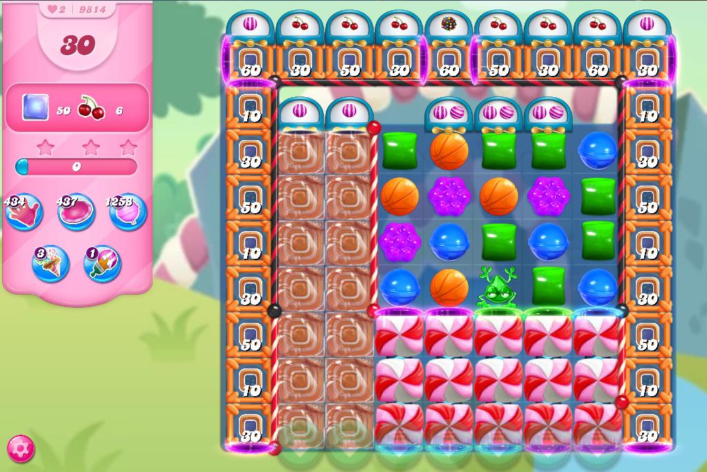 Candy Crush Saga level 9814