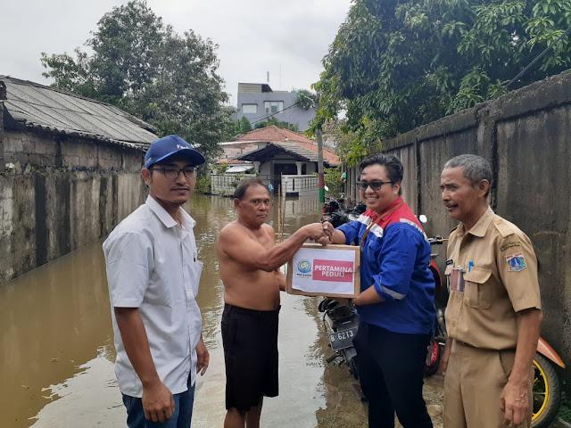 bantuan banjir pertamina