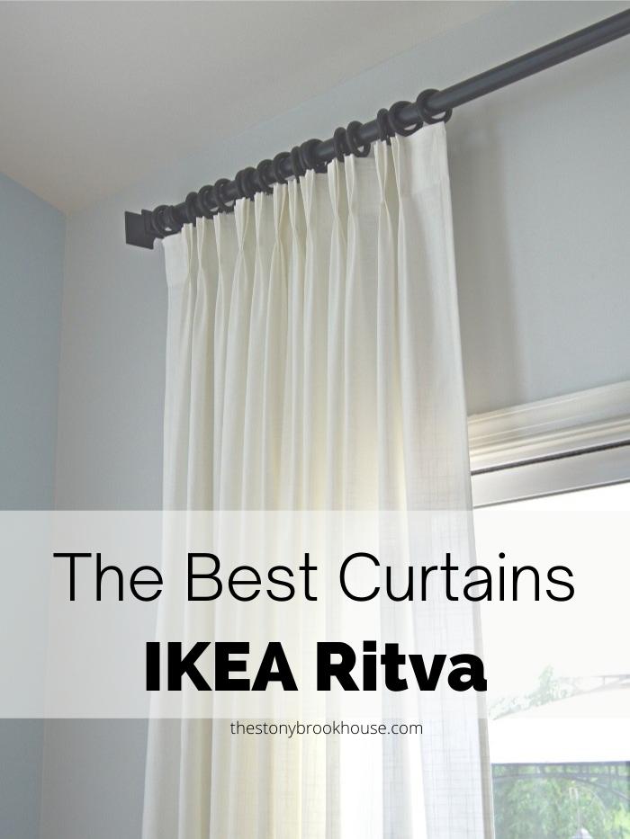 The Best Curtains - IKEA Ritva
