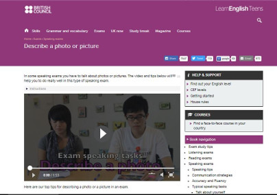 http://learnenglishteens.britishcouncil.org/exams/speaking-exams/describe-photo-or-picture