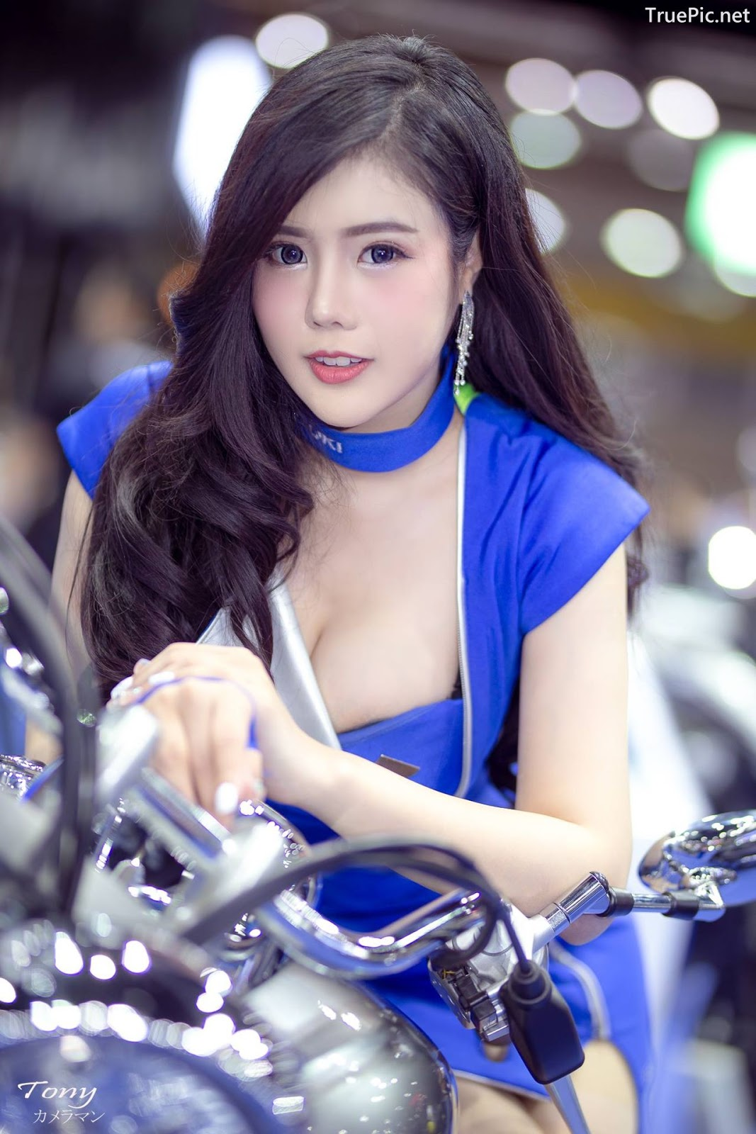 Image-Thailand-Hot-Model-Thai-Racing-Girl-At-Big-Motor-2018-TruePic.net- Picture-1