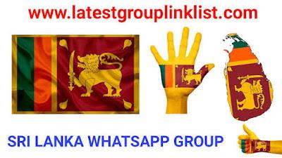 Join 500+ Sri Lanka Latest Whatsapp Group Link List 2020