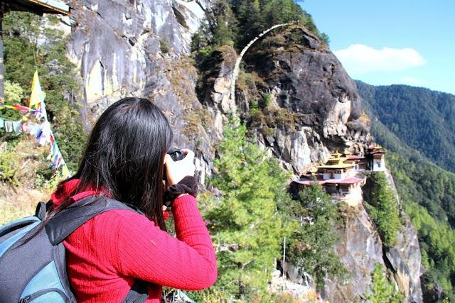 Spring travel in Bhutan, Japan, India